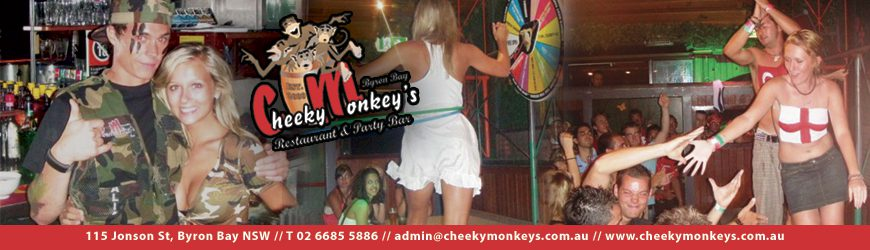 picture of the inside of the cheeky monkeys