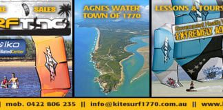 Things to do Agnes Water Queensland - Kite Surfing