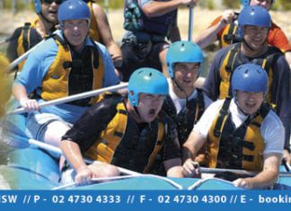 Things to do in and around Sydney - Whitewater Rafting