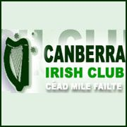 canberra irish club logo