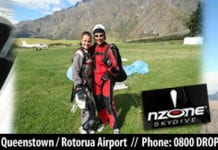 Things to do New Zealand - Rotorua and Queenstown Skydiving