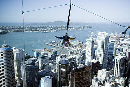 Things to do in Auckland New Zealand - Sky Jumping