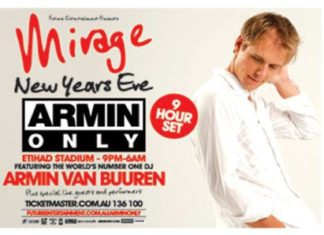 What's on in Melbourne Victoria - Armin Only - 'Mirage' New Year's Eve