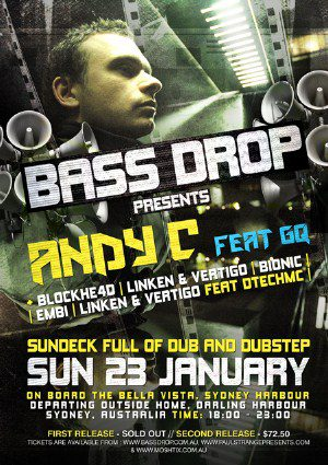 What's on in Sydney New South Wales - Andy C returns