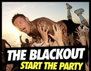 Welsh rockers 'The Blackout' announce release of fourth studio album 'Start The Party'