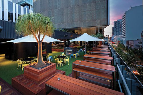 The Nest Rooftop Bar Perth