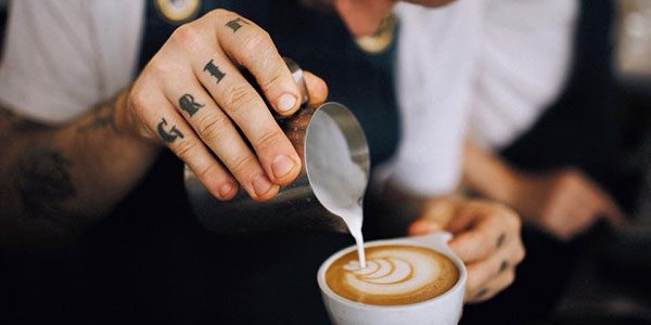pouring coffee in perth
