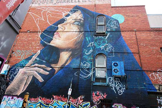 guide to melbourne street art