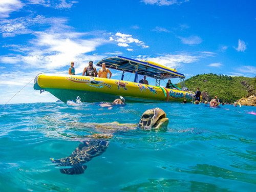 ocean rafting in the whitsundays