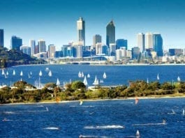 Perth to Joondalup day trip by road or train