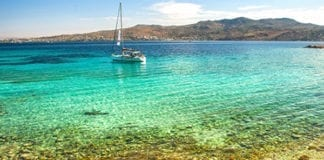 Sailing holiday Greece