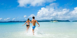 Sail the Whitsundays when traveling East coast Queensland