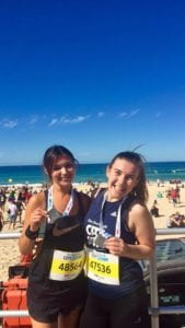 Expat Aly takes part in fitness in Sydney