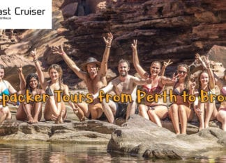 Perth to Broome tours West Coast Cruisers