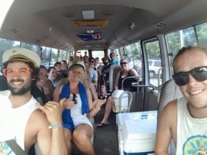 Backpacker Bus Tours