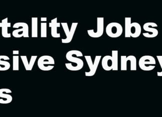 hospitality jobs in Sydney for backpackers