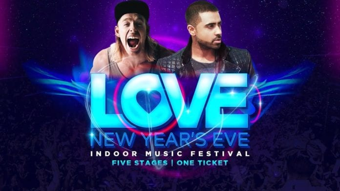 Love New Years Eve at Level 3 WILL SPARKS & JAY SEAN
