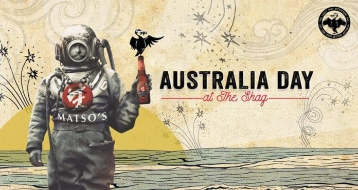 Australia Day at The Shag