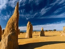 The Pinnacles In Western Australia With Adventure Tours