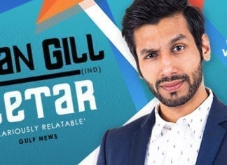 KANAN GILL Adds Brisbane Show To His Australian Stand-up Comedy Debut!