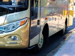 Overland Perth to Exmouth by Bus