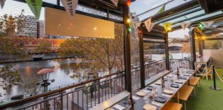 NEW YEAR'S EVE PARTIES & DINING ON SOUTHBANK AT HOPHAUS SUMMER GARDEN