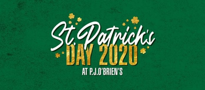 What's on in Melbourne on St.Patricks Day Tuesday 17 2020