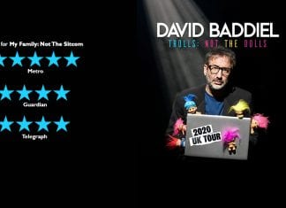 David Baddiel Australia tour